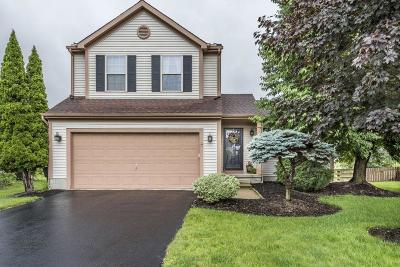 Hilliard Single Family Home Contingent Finance And Inspect: 5758 Clover Groff Drive