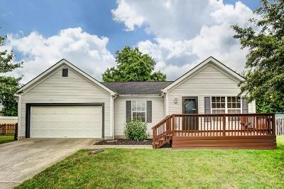 Grove City Single Family Home Contingent Finance And Inspect: 2436 Kittrel Court