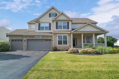Hilliard Single Family Home Contingent Finance And Inspect: 6170 Temple Ridge Drive