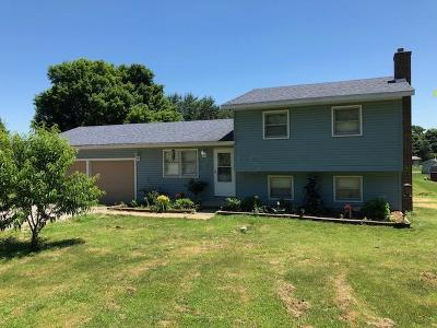Chillicothe Single Family Home Contingent Finance And Inspect: 4358 Charleston Pike