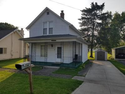 Hebron Single Family Home For Sale: 114 W 2nd Street