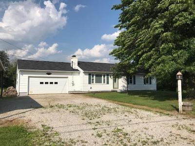 Centerburg Single Family Home For Sale: 3136 Vanatta Road