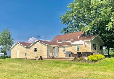 Thornville Single Family Home Contingent Finance And Inspect: 11275 New Salem Road