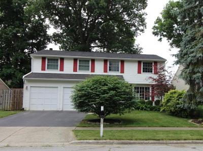 Dublin Single Family Home For Sale: 2627 Sawmill Forest Avenue
