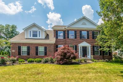 Lewis Center Single Family Home Sold: 1688 Sotherby Crossing