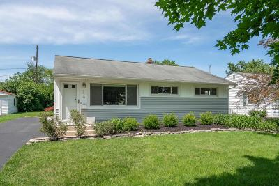 Columbus Single Family Home For Sale: 2548 Cranford Road