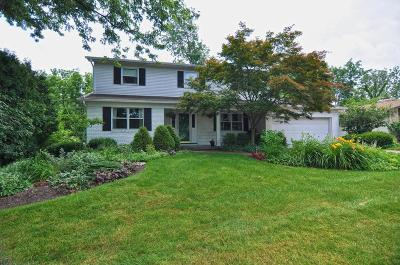 Columbus Single Family Home For Sale: 1321 Autumn Hill Drive
