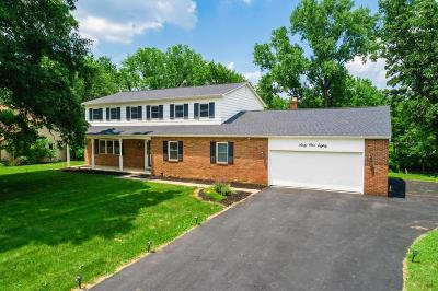 Columbus Single Family Home For Sale: 6180 Cherry Hill Drive