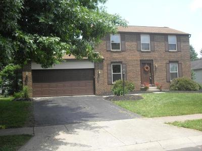 Worthington Single Family Home Contingent Finance And Inspect: 1206 Crater Lake Lane