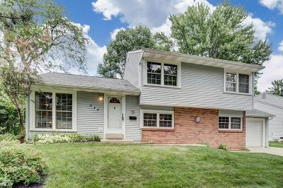 Columbus Single Family Home For Sale: 898 Caniff Road