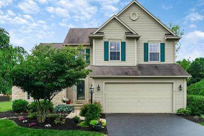Pickerington Single Family Home Contingent Finance And Inspect: 9209 Preakness Place