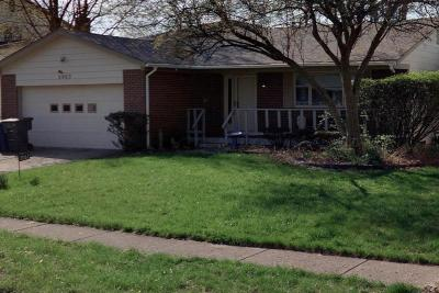 Columbus Single Family Home For Sale: 2063 Balmoral Court