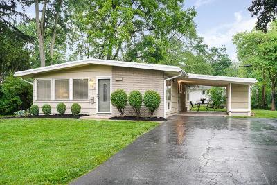 Worthington Single Family Home Contingent Finance And Inspect: 252 E Clearview Avenue