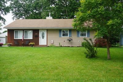Hilliard Single Family Home Contingent Finance And Inspect: 4327 Circle Drive