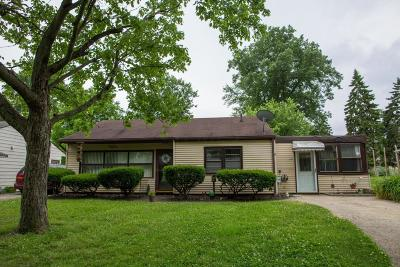 Columbus Single Family Home For Sale: 1739 Ward Road