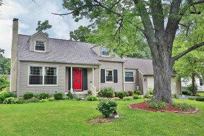 Columbus Single Family Home For Sale: 2810 Wildwood Road