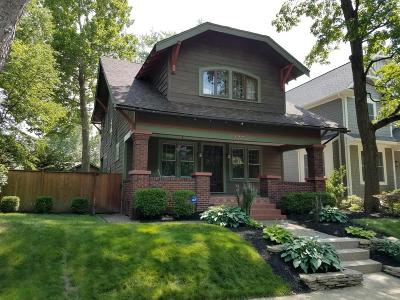 Clintonville Single Family Home Contingent Finance And Inspect: 177 E Weber Road
