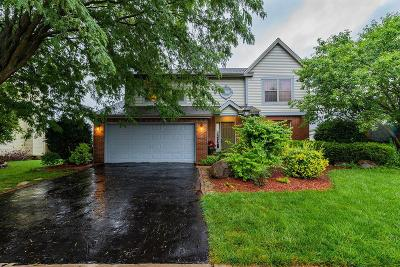 Hilliard Single Family Home Contingent Finance And Inspect: 2611 Westrock Drive