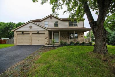Gahanna Single Family Home Contingent Finance And Inspect: 150 Rugby Lane