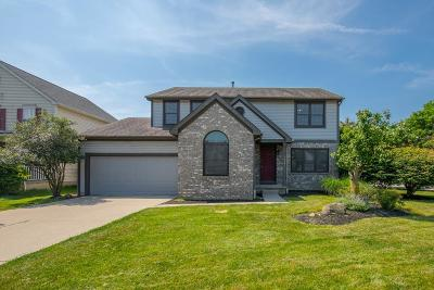 Hilliard Single Family Home For Sale: 5659 Cowall Court