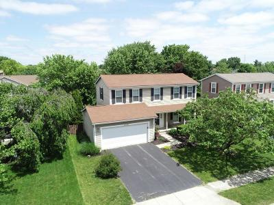 Hilliard Single Family Home Contingent Finance And Inspect: 4968 Inspiration Drive