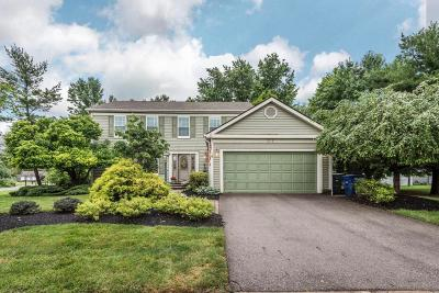 Columbus Single Family Home For Sale: 311 Charmel Place