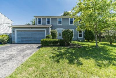 Hilliard Single Family Home Contingent Finance And Inspect: 5135 Bonner Drive
