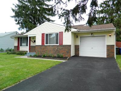 Columbus Single Family Home For Sale: 1444 Chelmsford Square N