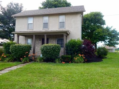 Single Family Home For Sale: 8296 Johnstown Utica Road