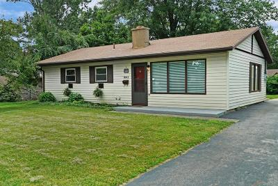 Reynoldsburg Single Family Home Contingent Finance And Inspect: 1043 Pleasant Drive