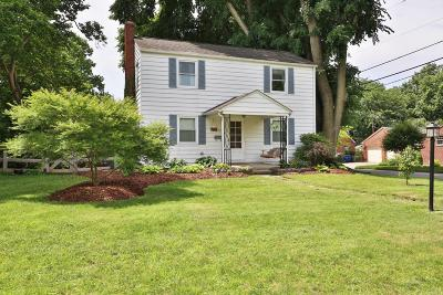 Clintonville Single Family Home Contingent Finance And Inspect: 399 Garden Road