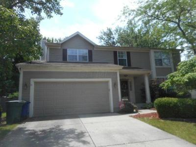 Hilliard Single Family Home Contingent Finance And Inspect: 5273 Redlands Drive