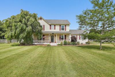Sunbury Single Family Home Contingent Finance And Inspect: 5395 Carters Corner Road
