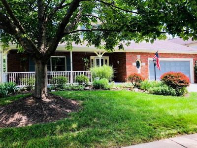 Worthington Single Family Home Contingent Finance And Inspect: 7573 Deercreek Drive