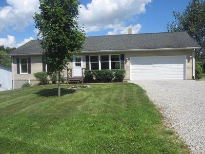 Fredericktown Single Family Home Contingent Finance And Inspect: 6771 Werner Road