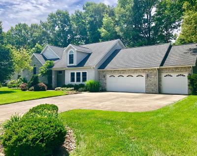 Gahanna Single Family Home For Sale: 684 Ridenour Road