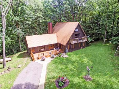 Marengo Single Family Home Contingent Finance And Inspect: 3621 Township Road 161