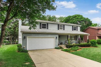 Pickerington Single Family Home Contingent Finance And Inspect: 117 Shannon Drive