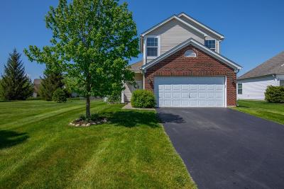 Hilliard Single Family Home Contingent Finance And Inspect: 5826 Redsand Road