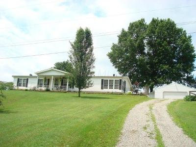 Chillicothe OH Single Family Home For Sale: $210,000