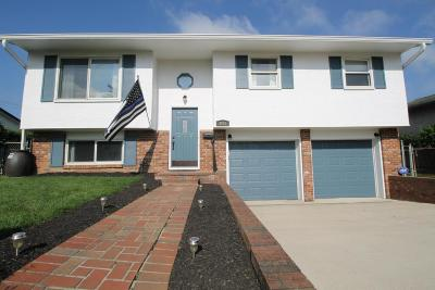 Hilliard Single Family Home Contingent Finance And Inspect: 4283 Avery Road
