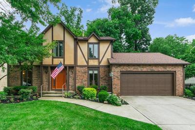 Gahanna Single Family Home Sold: 484 Howland Drive
