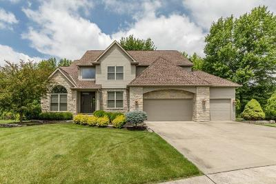 Pickerington Single Family Home Contingent Finance And Inspect: 13457 Canyon Lane