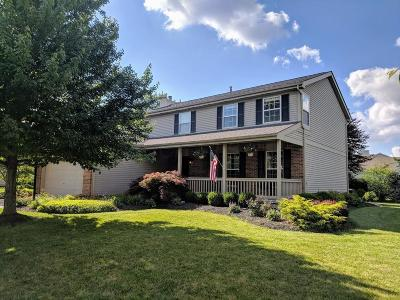 Hilliard Single Family Home Contingent Finance And Inspect: 5006 Edgeley Drive