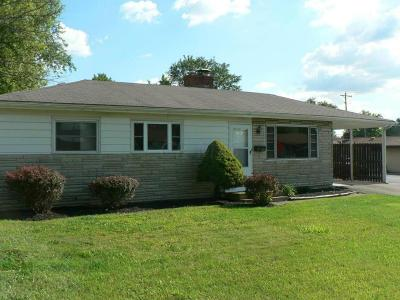 Reynoldsburg Single Family Home Contingent Finance And Inspect: 6277 Rider Road
