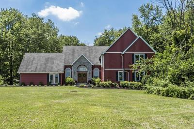 Centerburg Single Family Home Contingent Finance And Inspect: 6145 Lane Road