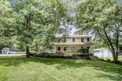 Pataskala Single Family Home Contingent Finance And Inspect: 4594 Watkins Road SW