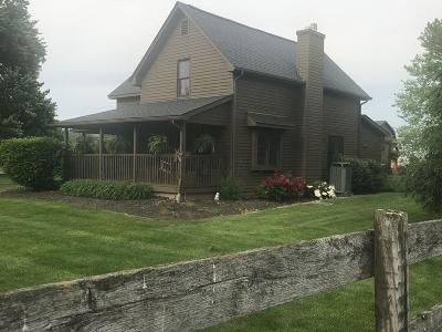 Lewis Center Single Family Home Contingent Finance And Inspect: 6903 S Old State Road