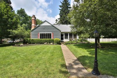 Worthington Single Family Home Contingent Finance And Inspect: 130 E Riverglen Drive