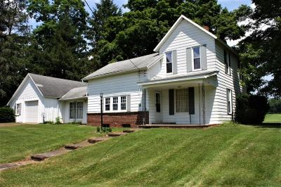 Howard Single Family Home Contingent Finance And Inspect: 24789 Weber Road